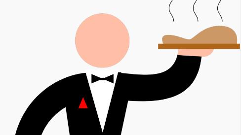 cameriere perfetto come fare