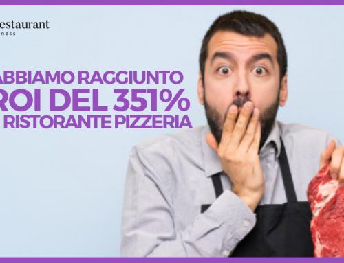 Come abbiamo raggiunto un ROI del 351% con un Ristorante Pizzeria