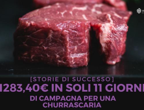 Come abbiamo generato 1283,40€ in soli 11 giorni di campagna per una churrascaria